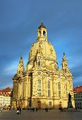 Frauenkirche In Dresden, Germany