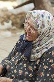 Woman Wearing Headscarf 2