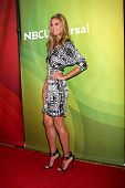 LAS VEGAS - APR 8:  Heidi Klum at the NBCUniversal Summer Press Day at Huntington Langham Hotel on A