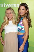 LAS VEGAS - APR 8:  Kristin Cavallari, Orly Shani at the NBCUniversal Summer Press Day at Huntington
