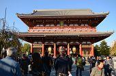 Tokyo, Japan - Nov 21: The Buddhist Temple Senso-ji Is The Symbol Of Asakusa