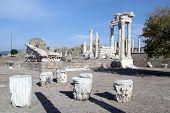 Trajan Temple In Pergam