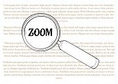 Magnifying Glass And Zoom