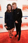 NEW YORK-APR 9: Dorothea Hurley and recording artist Jon Bon Jovi attend the Food Bank for New York