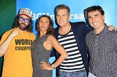 PASADENA - APR 8: Judah Friedlander, Kari Wuhrer, Mark McGrath, Anthony Ferrante at the NBC/Universa