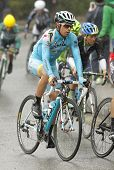 BARCELONA - 30, MARCH: Mikel Landa of Team Astana rides during the Tour of Catalonia cycling race th