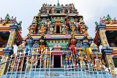 Gopuram With Gods