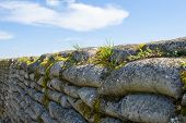 stock photo of world war one  - Trench of death sandbags world war one - JPG