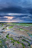 Rocky Beach Of Bundoran, Ireland