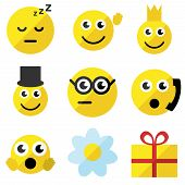Sef Of Emoticons