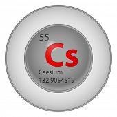 caesium element