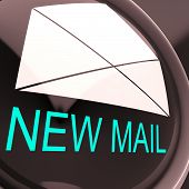 New Mail Envelope Means Unread Email Or Message