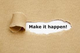 foto of philosophy  - Make it happen - JPG