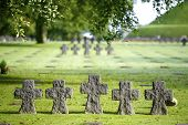 German Military Cemetery, Normandy, France.
