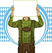 stock photo of lederhosen  - Idea concept - JPG