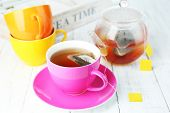 picture of hot-water-bag  - Cup of tea - JPG