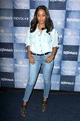 LOS ANGELES - SEP 18:  Tia Mowry at the People Stylewatch Hosts Hollywood Denim Party at The Line on September 18, 2014 in Los Angeles, CA