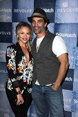 LOS ANGELES - SEP 18:  Julie Solomon, Johnathon Schaech at the People Stylewatch Hosts Hollywood Denim Party at The Line on September 18, 2014 in Los Angeles, CA