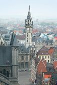 View of Ghent, Belgium
