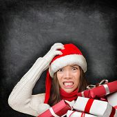 picture of holding money  - Christmas holiday stress - JPG