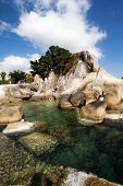 Beautiful Lamai beach, Ko Samui, Thailand - exotic holiday background