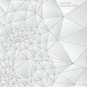 eps10 vector triangular shape elements concept background
