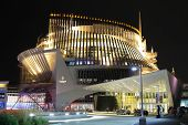 MONTREAL CANADA SEPT 28, 2014: Casino of Montreal, is the largest casino in Canada and located into the French pavillion from Expo67.  The casino opened October 9, 1993.