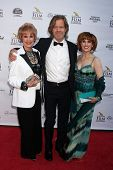 AVALON - SEP 27:  Karen Sharp Kramer, William H. Macy, Kat Kramer at the Catalina Film Festival Gala at the Casino on September 27, 2014 in Avalon, Catalina Island, CA
