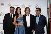 AVALON - SEP 27:  Andy Garcia, Emmy Rossum, William H. Macy, Roman Coppola at the Catalina Film Fest