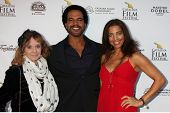 AVALON - SEP 27:  Maria St John, Kristoff St. John, Dana Derrick at the Catalina Film Festival Gala at the Casino on September 27, 2014 in Avalon, Catalina Island, CA