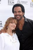 AVALON - SEP 27:  Maria St John, Kristoff St. John at the