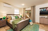 Bedroom in Contemporary Home, Interior Design