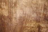 Close-up Background Texture Of Old Plywood Surface