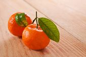 Fresh Orange Isolated.