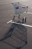 Shopping supermarket trolley