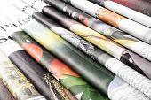 picture of newspaper  - Close - JPG