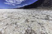 pic of arid  - The arid Death Valley in California USA - JPG