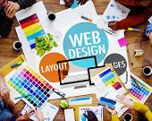 image of creativity  - Web Design Content Creative Website Responsive Concept - JPG