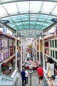 Singapore Landmark: Chinatown Pagoda Street