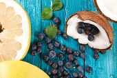 foto of pomelo  - Blueberry - JPG