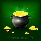 Cauldron With Golden Coins