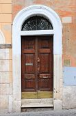 Renaissance font door
