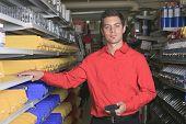 Hardware store employee