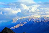 Scenic View Of The Himalayas Mountains