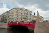 Red Bridge, Saint Petersburg
