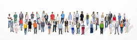 picture of diversity  - Diverse Large Group Of People Multiethnic Group Community - JPG