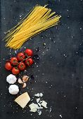 picture of pasta  - Food frame - JPG