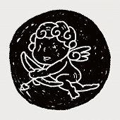 image of cupid  - Cupid Doodle - JPG