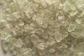 pic of mica  - macro close up of Mica salt texture backgound - JPG