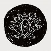 pic of werewolf  - Werewolf Doodle - JPG